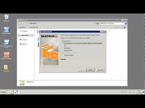 Empirum Paket erstellen - MSI